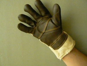 Перчатки рабочие своими руками